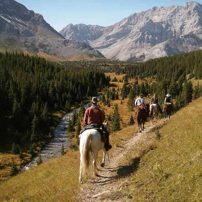 Horseback riding Canada